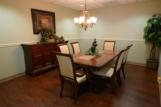 Centerburg family dining room at our skilled nursing community