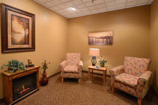Centerburg sitting room at our skilled nursing facility