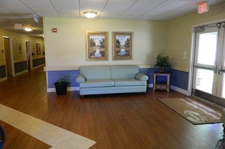 Chatham common room entrance to skilled nursing