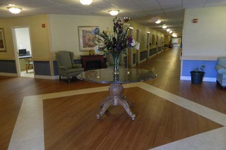 Chatham skilled nursing common room