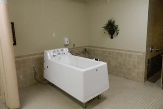 Chatham whirlpool tub at skilled nursing
