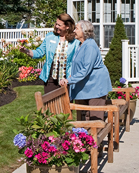 Memory care options available in Woodstock VT for senior living residents at Woodstock Terrace.