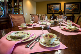 Private dining room available for residents use