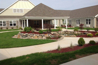 Entry way to our skilled nursing in fort wayne