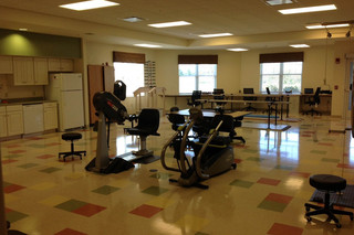 Rehab gym at fort wayne skilled nursing