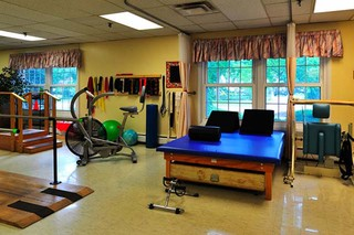 Gym at painesville skilled nursing