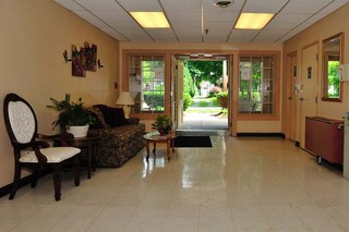 Lobby to skilled nursing in painesville