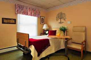 Private room at painesville skilled nursing