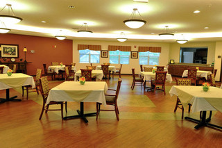 Brecksville group dining area skilled nursing