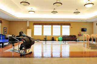 Gym at skilled nursing in brecksville