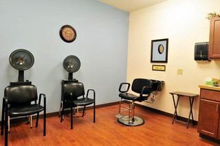 Salon at brecksville skilled nursing