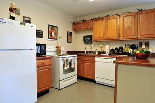 Kitchen at the willows health center