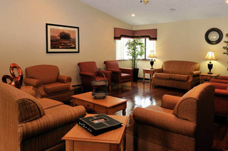 Lounge at the willows health center