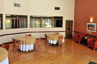 Dining tables at walton manor health care