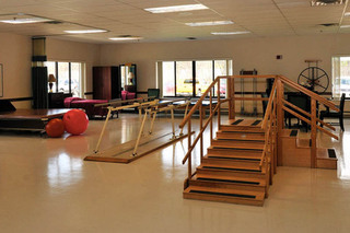 Gym at walton manor health care