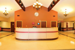 Lobby at walton manor health care