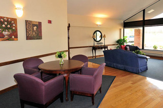 Sitting area at walton manor health care