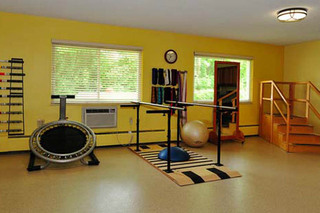 Gym at wilmington nursing and rehabilitation center