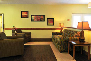 Sitting area at wilmington nursing and rehabilitation center