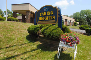 Caring heights community care sign