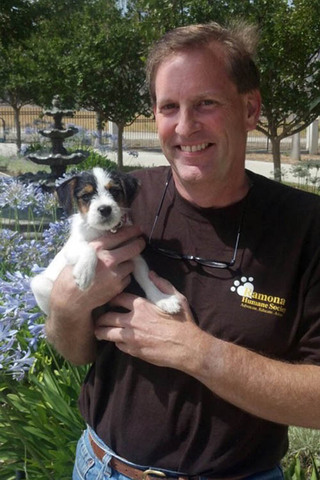 Murrieta veterinarian and his dog