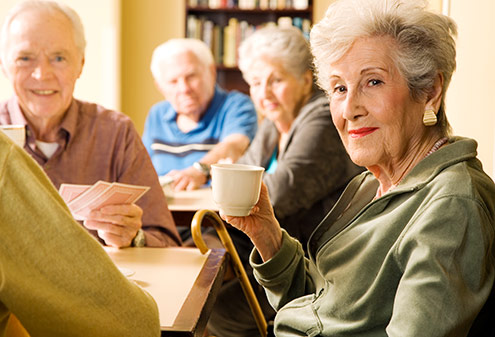 Seniors compare senior living community prices