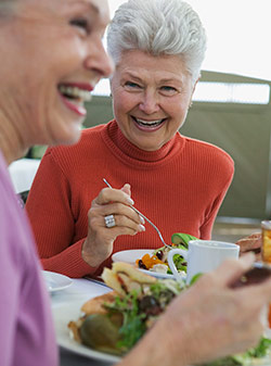 Fine senior dining services at Merrill Gardens