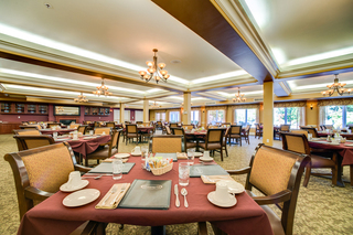 Main building dining room