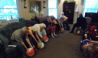 Senior living in Columbus has physical exercise classes