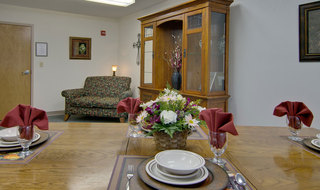 Dining room for skilled nursing in piedmont