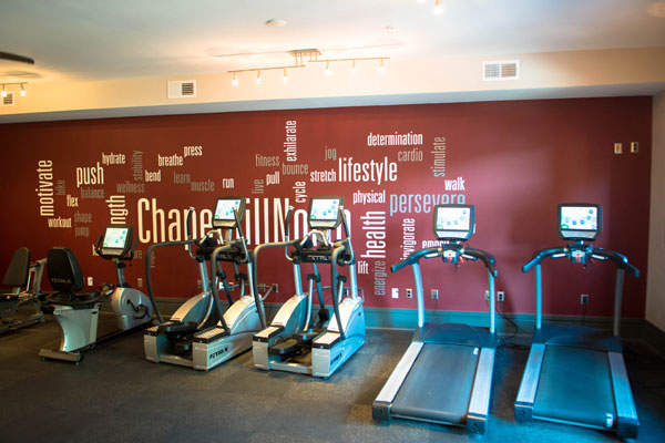 Apartments premier fitness center