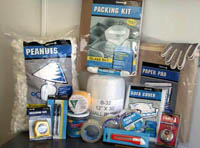 Moving kits include everything you need for packing and storage.