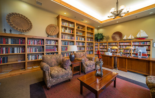 Library in the Grand Lodge