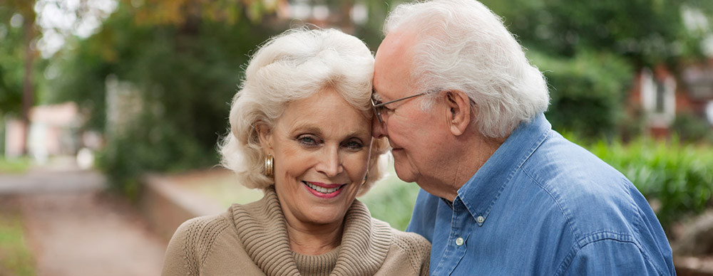 Senior couple at Ambler senior living