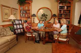 Assisted living card game tequesta senior