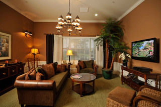 Lounge at our tequesta senior living home