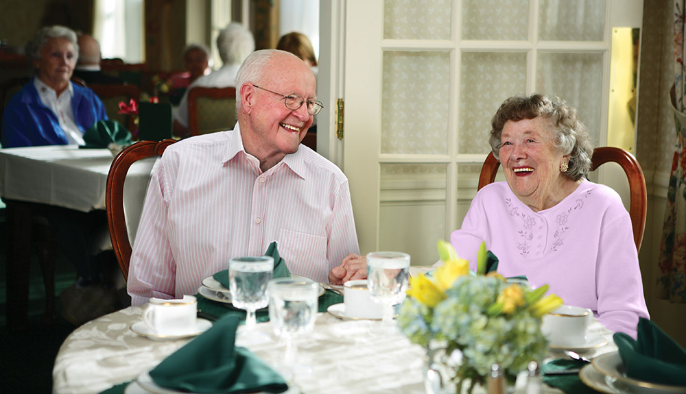 Enjoy the perks of assisted living with Terrace.