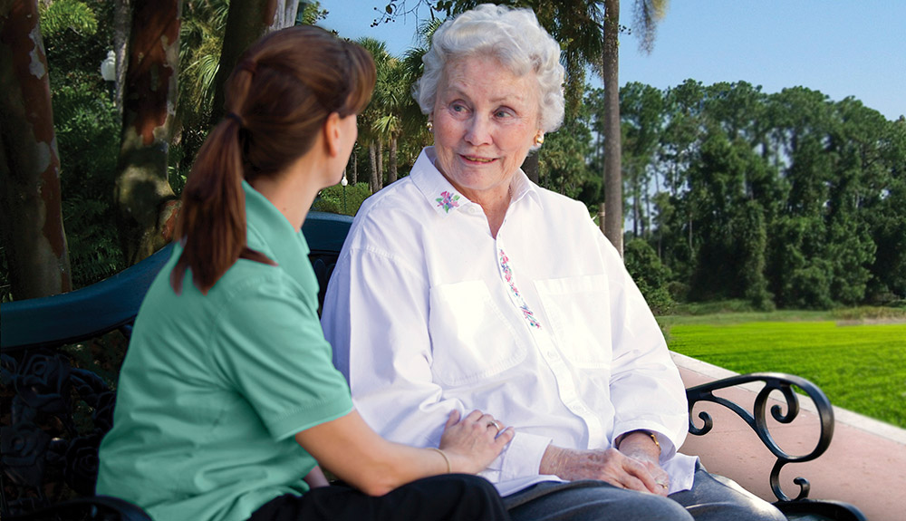 At our memory care facility in Tequesta, FL we offer the highest quality of service.