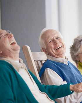 Scarborough ME assisted living community is a social place for you and your friends.