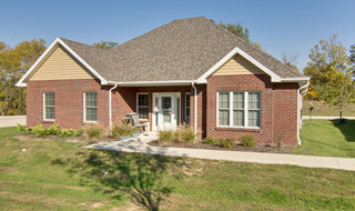 Independent living building in boonville