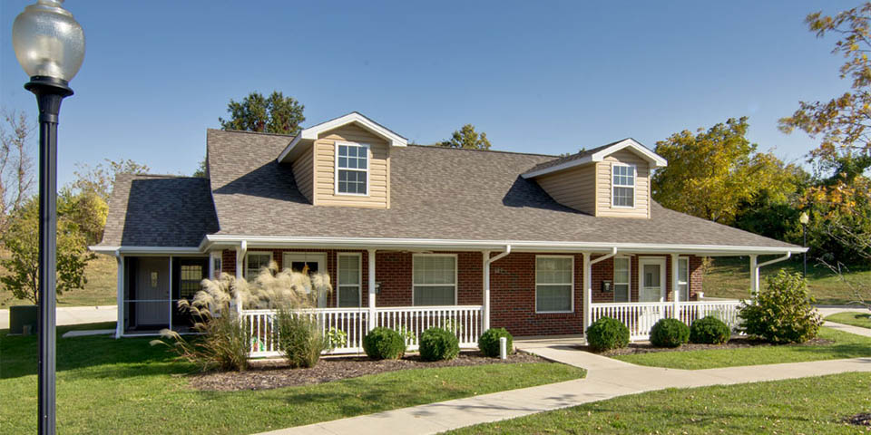 Our independent living community in Boonville, MO.