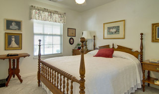 Independent living bedroom model in moberly