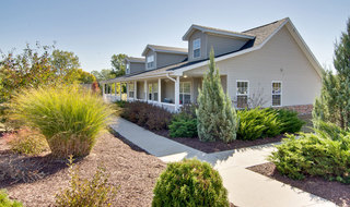Landscaped independent living community in moberly