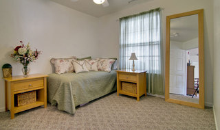 Moberly independent living model apartment