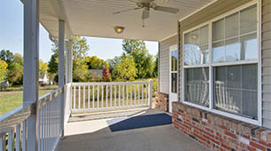 Amenities available at The Cottages of Ravenwood Terrace in Moberly, MO.