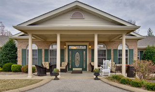 Jackson assisted living entrance