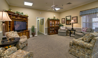 Senior living in jackson community area