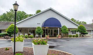 Farmington senior living building