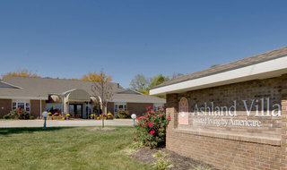Ashland assisted living community entrance sign