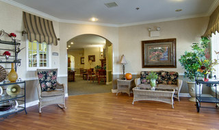 Senior living community area in ashland